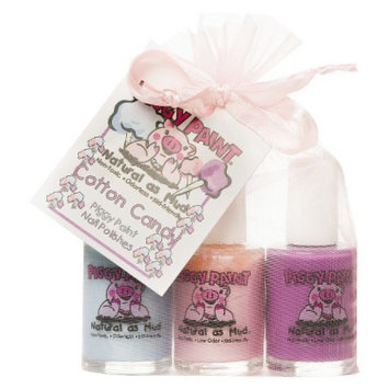 Rockhouse Industries, Inc Piggy Paint Cotton Candy Non-Toxic Nail Polish Set