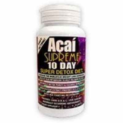 Nature's Garden Acai Supreme 10-Day Super Detox Diet, 30 Tablets