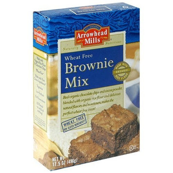 Arrowhead Mills Wheat Free Brownie Mix, 17.5 Ounce (Pack of 6)
