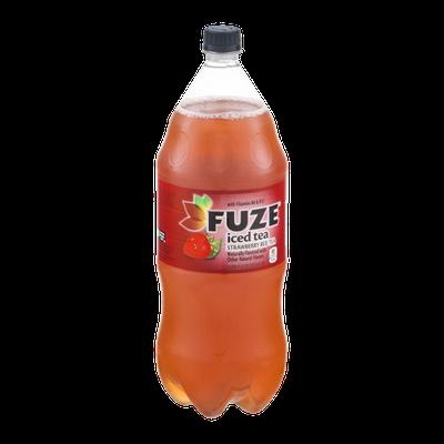 FUZE Iced Tea Strawberry Red Tea