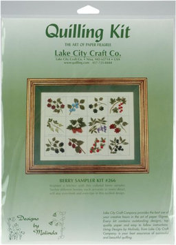 Lake City Craft Q266 Quilling Kit Berry Sampler - 12 Pieces