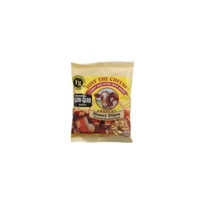 Just The Cheese Crunchy Baked Natural Cheese Snacks Honey Dijon -- 2 oz