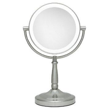 Zadro Next Generation LED Lighted Vanity Mirror 1X & 5X Magnification
