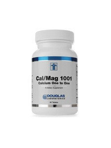 Douglas Laboratories - Cal/Mag 1001 - 90 Tablets CLEARANCE PRICED