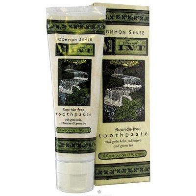 Common Sense Farm Fresh Mint Toothpaste 6 net oz.
