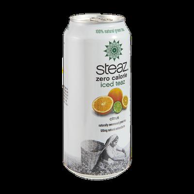 Steaz Zero Calorie Iced Teaz Citrus Green Tea
