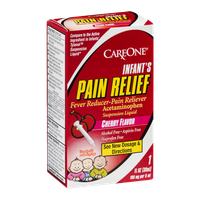 CareOne Infant's Pain Relief Fever Reducer-Pain Reliever Cherry