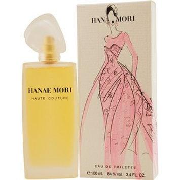Hanae Mori Haute Couture Eau de Toilette Spray for Women, 3.4 fl oz