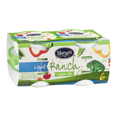 Marzetti Light Ranch Veggie Dip - 6 CT