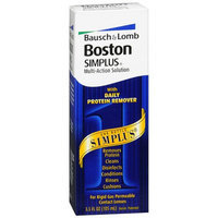 Boston Bausch & Lomb  SIMPLUS