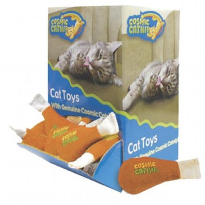 Ourpet's Company Ourpets Company - Cosmic Bulk Catnip Display- Chicken Leg 48 Piece