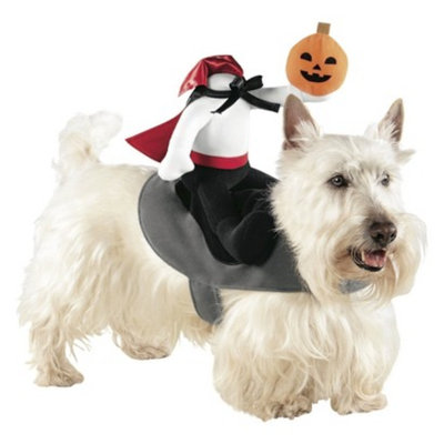 Boots & Barkley Boots and Barkley Headless Horseman Rider Pet Costume - Small/Medium