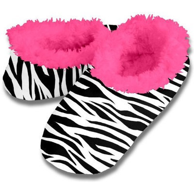 Snoozies Fleece Lined Slippers - Animal Skins Collection