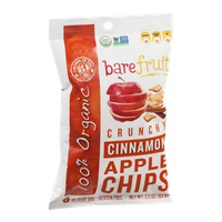 Bare Fruit Organic Apple Chips Cinnamon