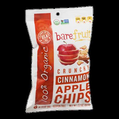 Bare Fruit Organic Apple Chips Cinnamon