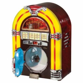 Crosley Radio Jukebox CD, Cherry, 1 ea