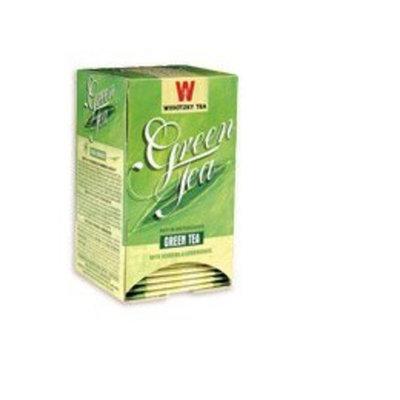 Wissotzky Tea Green Tea with Ginger & Lemongrass - 20 Tea Bags