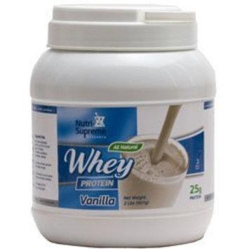 Nutri Supreme Research Nutri-Supreme Research Whey Protein Powder Dairy Cholov Yisroel Vanilla Flavor - 2 LB