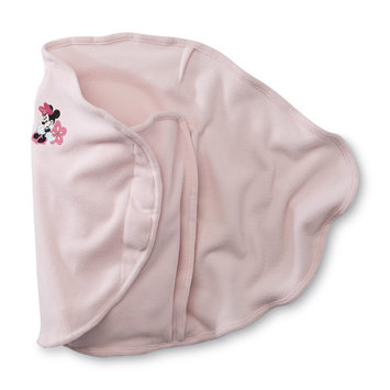 Crown Crafts Infant Products, Inc. Disney Baby Infant Girl's Swaddle Minnie Mouse - CROWN CRAFTS INFANT PRODUCTS, INC.