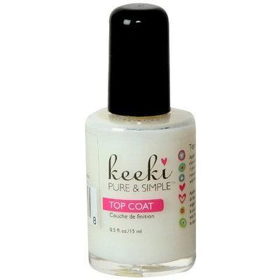 Keeki Pure And Simple Keeki Pure & Simple Top Coat Nail Polish, .5 Fluid Ounce