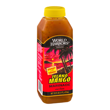 World Harbors Marinade and Sauce Island Mango