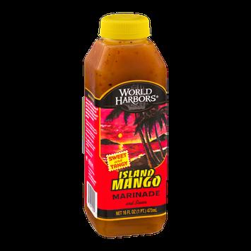 World Harbors Marinade and Sauce Island Mango