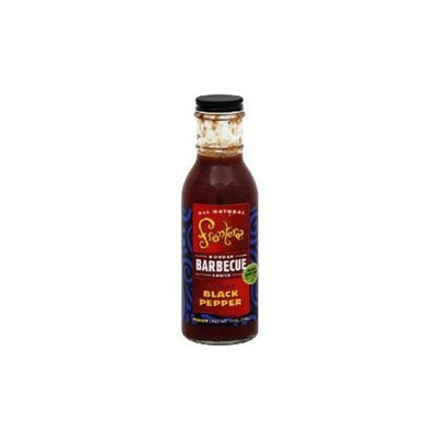 Frontera Texas Black Pepper Barbecue, 12-Ounce (Pack of 6)