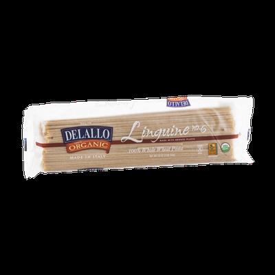 Delallo 100% Organic Whole Wheat Pasta Linguine