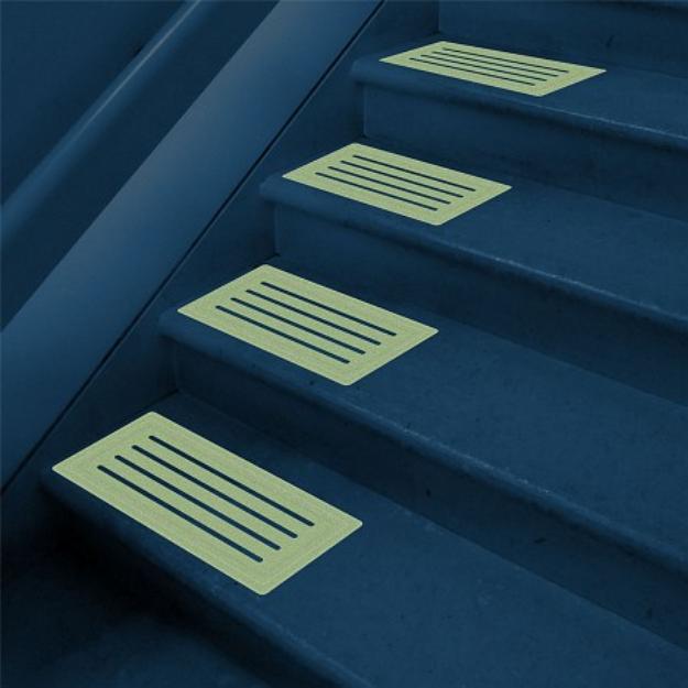 Trademark Home Glow in the Dark Non-Slip Mat