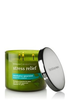 Bath & Body Bath and Body Works Aromatherapy EUCALYPTUS SPEARMINT Scented Candle 14.5 OZ