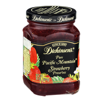 Dickinson's Pure Pacific Mountain Strawberry Preserves