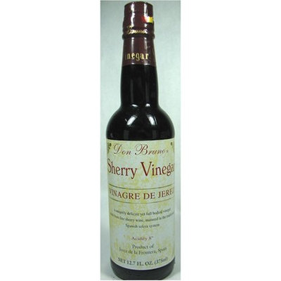 Don Bruno Sherry Vinegar Vinagre De Jerez 12.7 Oz.