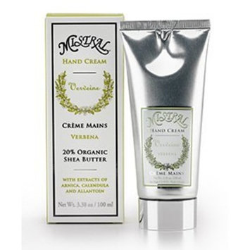 Mistral Hand Cream Box, Verbena, 3.38 Fluid Ounce
