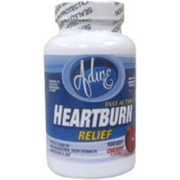Adwe Laboratories Calcium- Heartburn Relief Cherry Flavor Reg. Strength Compare to Tums - 100 TAB