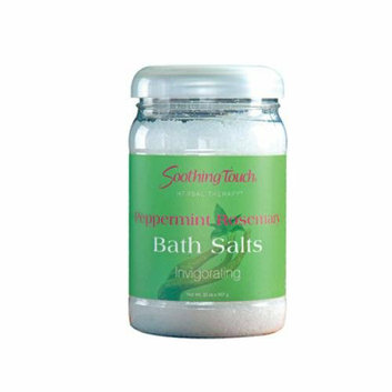 Soothing Touch & Sunshine Spa Soothing Touch Bath Salts Peppermint Rosemary 32 oz