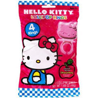 Hello Kitty Party Lollipop Rings, 4pk