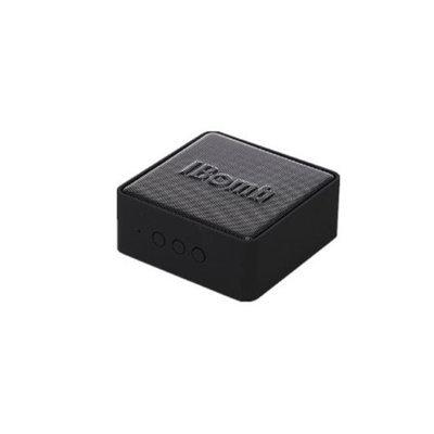 iBomb BT-EX500-BK 3 W Cube Mini Haut Parleur Bluetooth Wireless Speaker Black