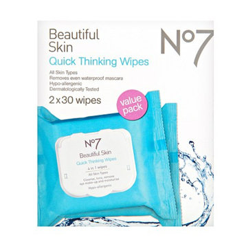 Boots No7 Quick Thinking Wipes