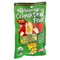 Sensible Foods Organic Apple Harvest Crunch Dried Fruit Snacks