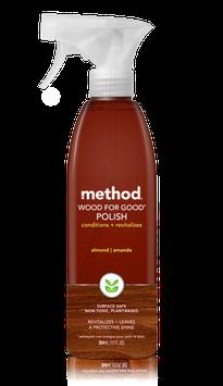 method wood for good polish almond