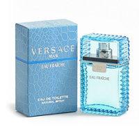 Fragrance Versace Man Eau Fraiche Eau de Toilette Spray - Men's (Black/Saffron)