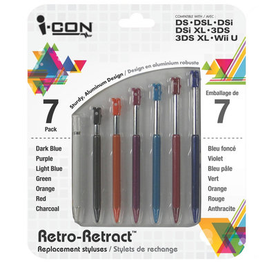 Icon DS/DSI Rainbow Stylus Pack (Nintendo DS/DSI)