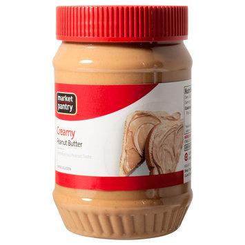 Market Pantry Creamy Peanut Butter - 18 oz.