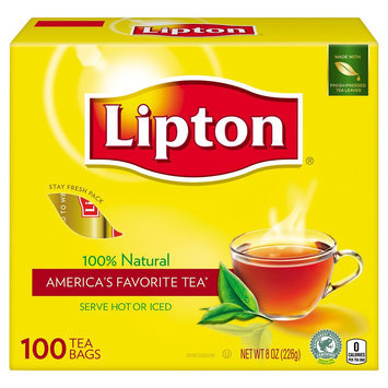 Lipton 100% Natural Tea 100 ct