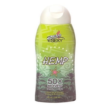 Zero to Sexy Hemp Ultra Bronzing Tanning Lotion []