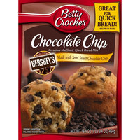 Betty Crocker Chocolate Chip Muffin and Quick Bread Mix 16.4 oz