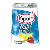 Yoplait Light Strawberry Banana Yogurt 6 oz