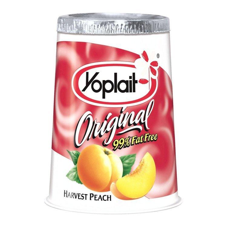 Yoplait Original Harvest Peach Yogurt 6 oz