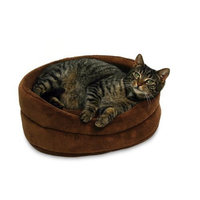 Petmate 16-Inch Oval Terry Bed, Colors May Vary
