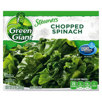 Green Giant Steamers Chopped Spinach 9oz. Box